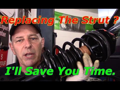 How To Replace Front And Rear Strut Assembly On A Hyundai Accent