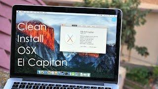 How to : Factory Reset / Hard Reset your MacBook (OS X El Capitan)