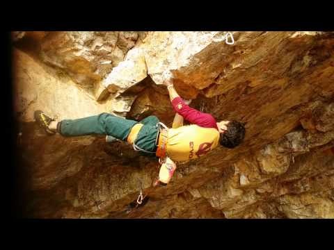 Ascent chungi(5.13d) - Oh se-woong (Aram climbing gym)
