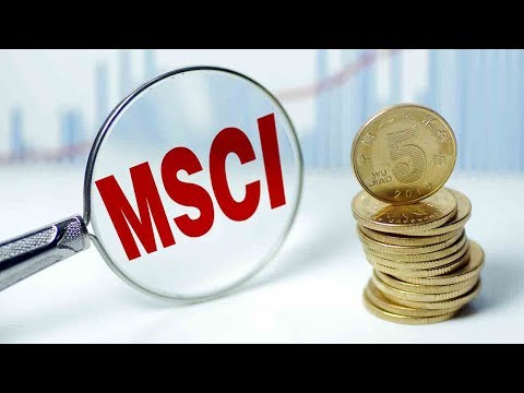 MSCI adds Chinese shares to global benchmarks