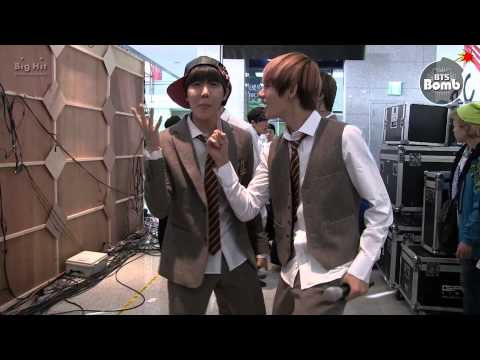 [BANGTAN BOMB] Trot rookies on standby time of rehearsal