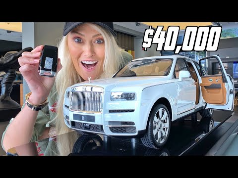 World's Most Expensive Toy Car   Rolls Royce Cullinan