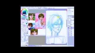 Tezuka and Fuji Speedpaint 1