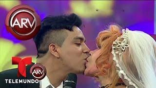 La Tigresa del Oriente se casa simbólicamente con novio | Al Rojo Vivo | Telemundo