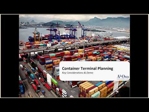 Ab Ovo Container Terminal Planning demonstration