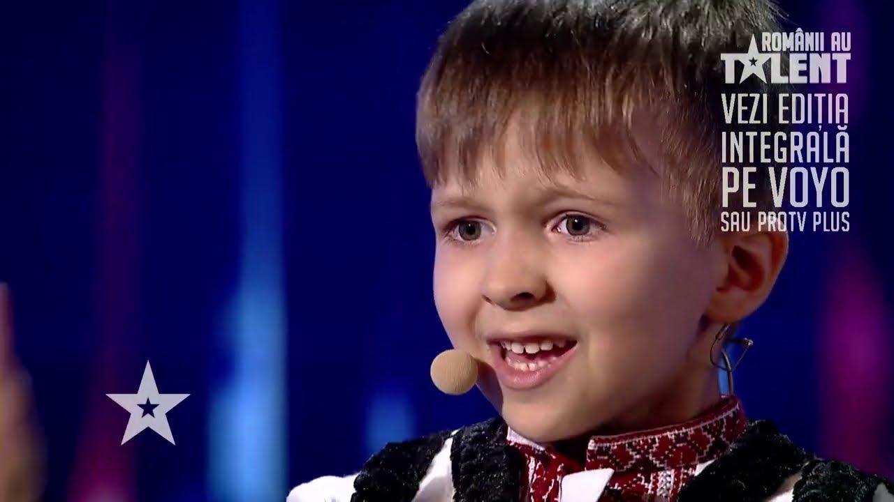 Românii au talent 2021: Vlad Ciobanu - poezie