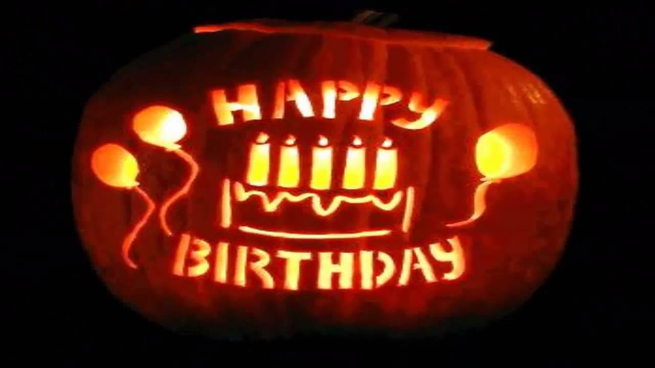 Fall Wallpaper With Pumpkins Fel 237 Z Cumplea 241 Os Halloween Happy Birthday Youtube