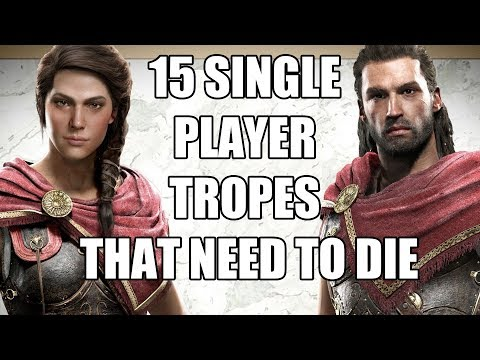 15 Single Player Video Game Tropes That Need To Die