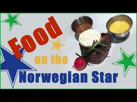 Food on the Norwegian Star Pt 1