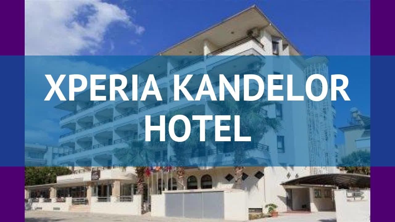 XPERIA KANDELOR HOTEL 4* Турция Алания обзор – отель ...