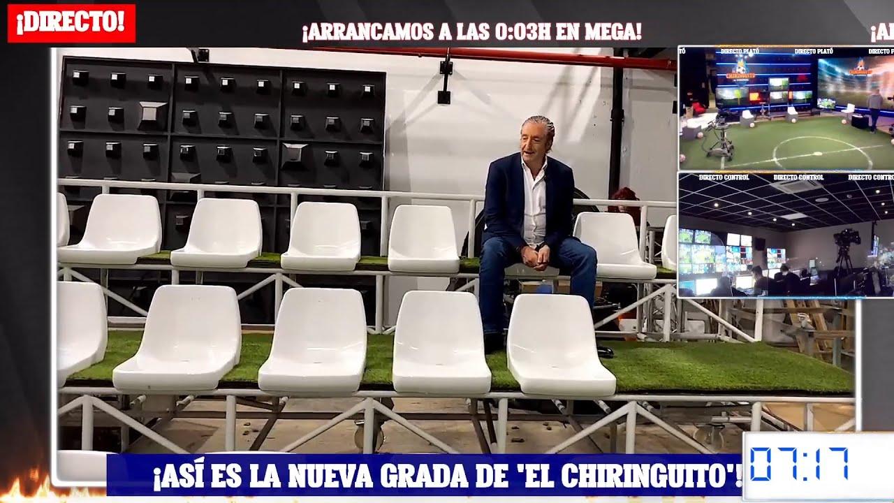 Download 💣 JOSEP PEDREROL presenta la NUEVA GRADA de 'EL CHIRINGUITO' | CHIRINGUITO INSIDE