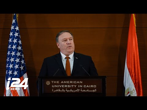 FULL: Secretary of State Pompeo's Speech in Cairo