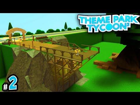 Entrance Bridge! - TreeHouse Theme Park Tycoon #2 | Roblox