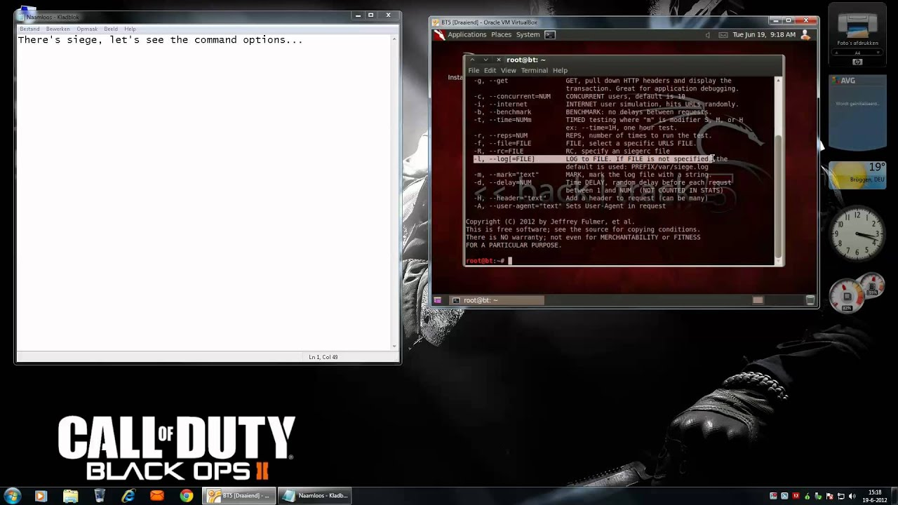 How to make a DOS attack backtrack 5 R2