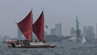 Hokulea Arrives in New York