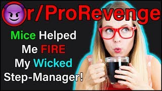 Mice Helped Me FIRE My Wicked Step-Manager! | r/ProRevenge | #227