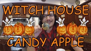 HOW TO MAKE WITCH HOUSE CANDY APPLES