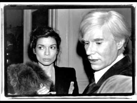 Bianca Jagger & Andy Warhol