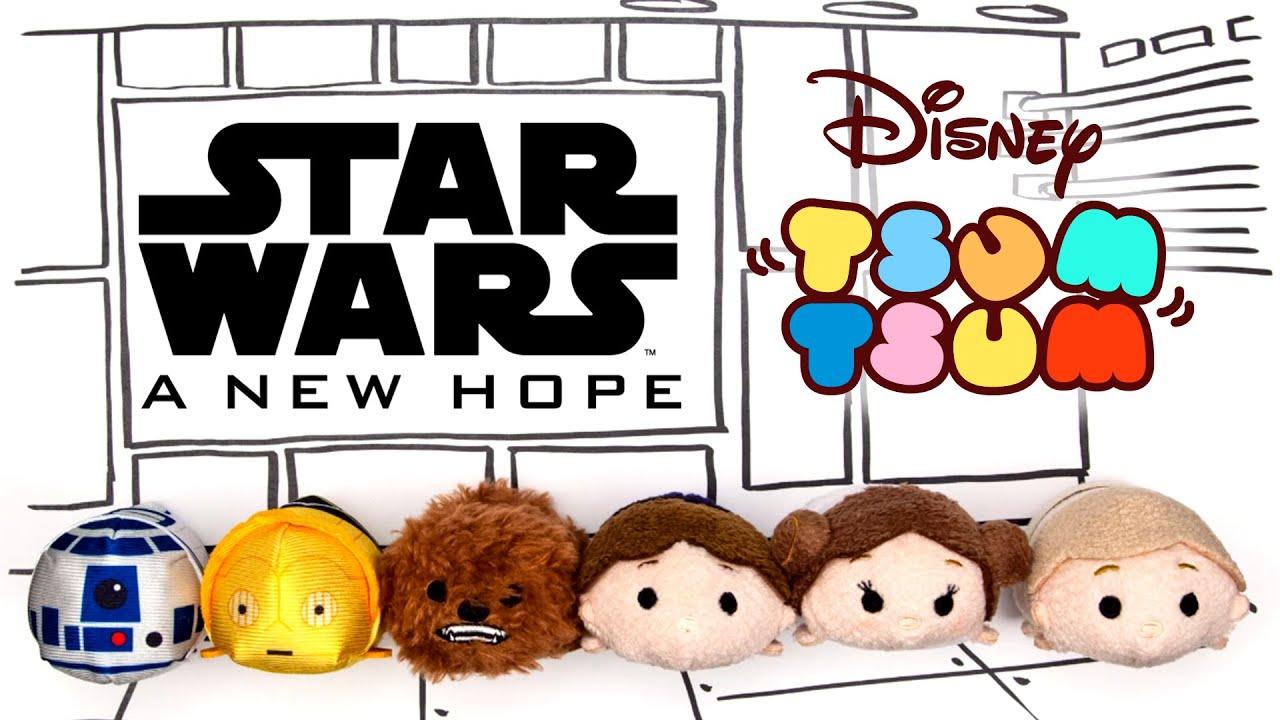 Star Wars: A New Hope as told by Tsum Tsum | Oh My Disney