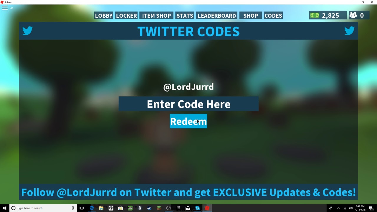 April 13th Island Royale Codes | Doovi