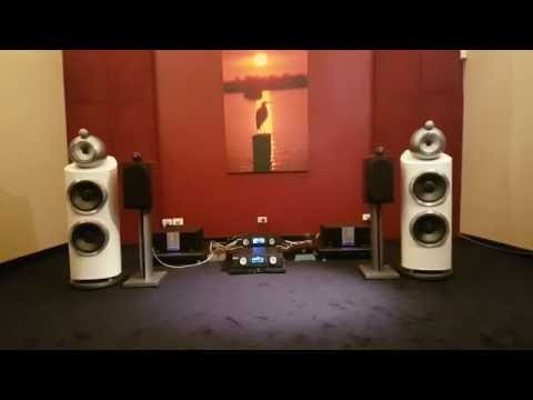 Musical Fidelity M6 Encore 225 with B&W 805 D3 bookshelf speakers