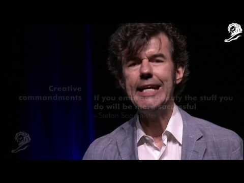 Stefan Sagmeister, co-founder of award-winning design agency Sagmeister & Walsh