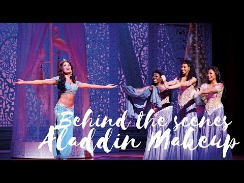 Behind The Scenes Makeup Of Aladdin West End Show
