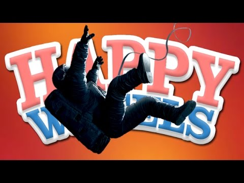 Happy Wheels: Weird Gravity Thing - Part 155