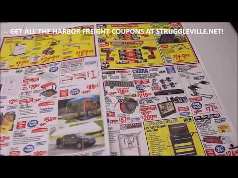 Harbor Freight Parking Lot Sale!  BOOM OR BUST?!