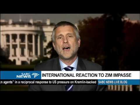 International reaction to Zimbabwe impasse