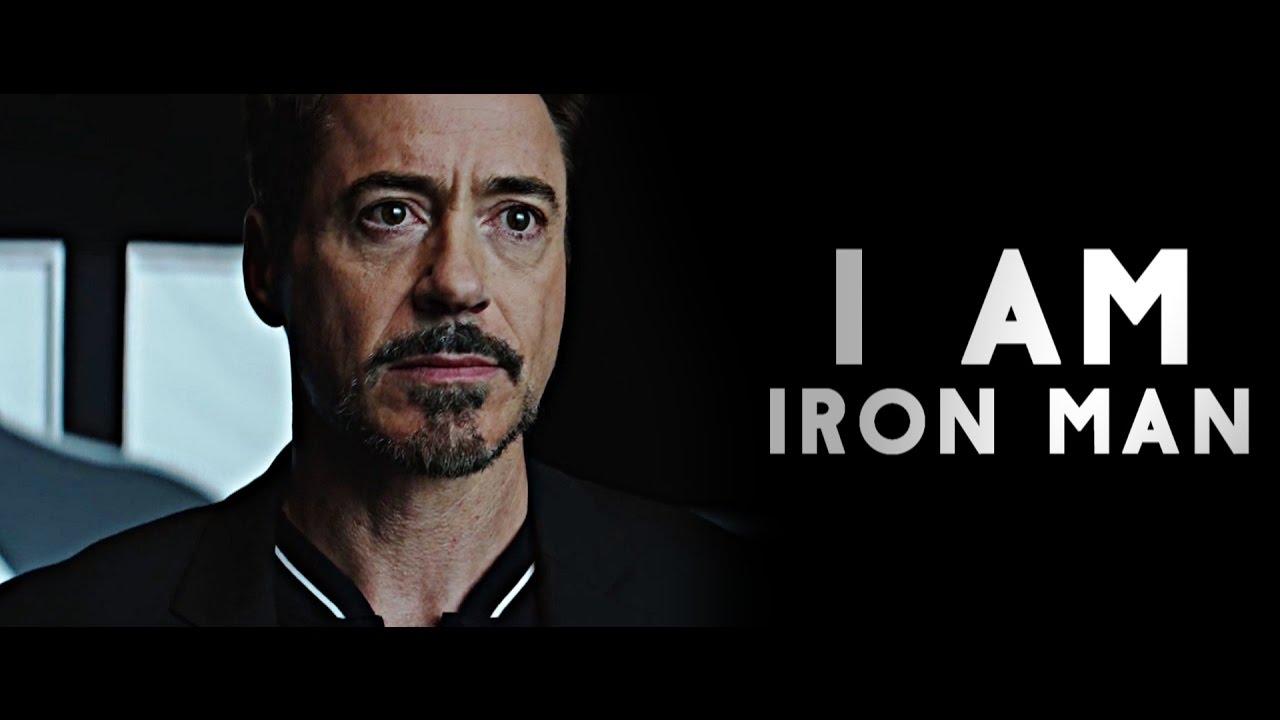 tony stark i am iron man youtube