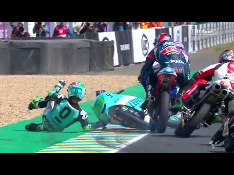 The best MotoGP save of all time?! Jakub Kornfeil with a Hollywood moment!