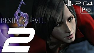 Resident Evil 6 (PS4) - Gameplay Walkthrough Part 2 - Deborah Boss Fight (Ada) [1080P 60FPS]