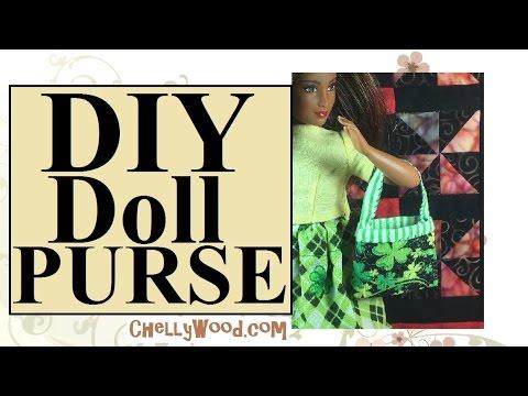 Barbie® Purse DIY Craft Project YouTube