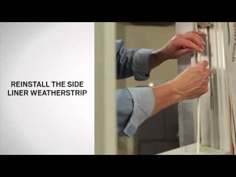 Weatherstrip Replacement Bottom Side On Andersen 200 Series Tilt Wash Double Hung Windows