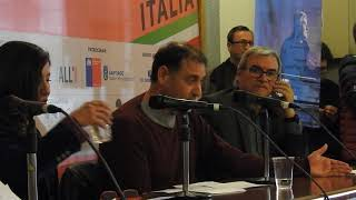 Presentación libro PRECHT LAS CULPAS DEL VICARIO. Interviene Juan Cristóbal Peña