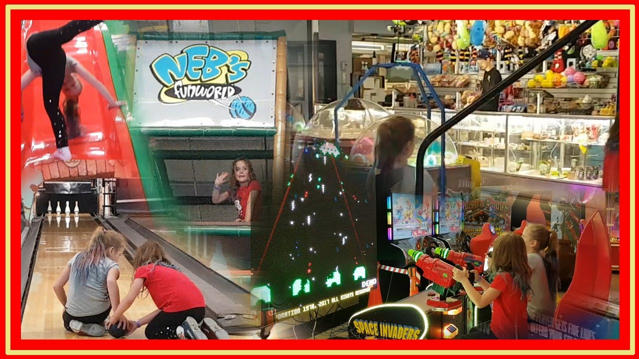 indoor playground arcade bowling nebs fun world. Black Bedroom Furniture Sets. Home Design Ideas