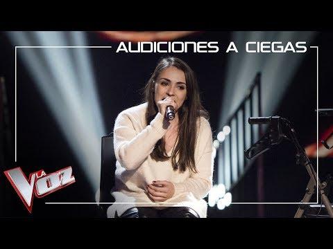Miriam Fernández canta 'Con las ganas' | Audiciones a ciegas | La Voz Antena 3 2019
