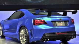 Subaru BRZ Concept - STI 2011 Videos