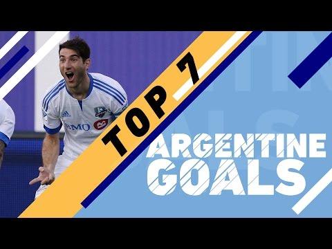 Top 7 Argentine Goals