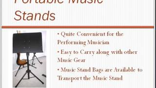 Guide To Folding Portable Music Stands