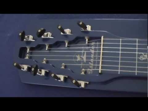 georgeboards 8 string lap steel guitar islander model blue lagoon 24 5 scale length youtube. Black Bedroom Furniture Sets. Home Design Ideas