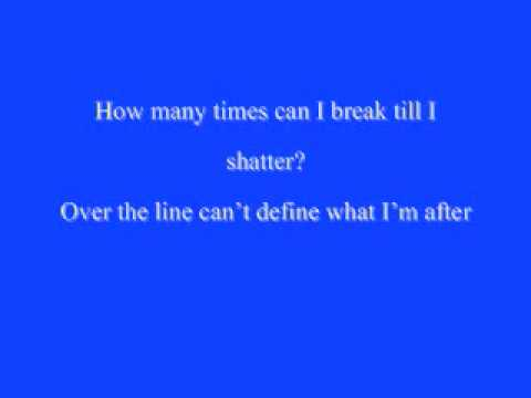 Shattered - OAR Lyrics