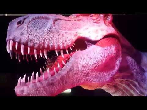 Genève Palexpo 2016 L'exposition - Le Temps des Dinosaures 15/10/2016