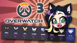 Overwatch: Competitive Placements - PART 3 - Kitty Kat Gaming