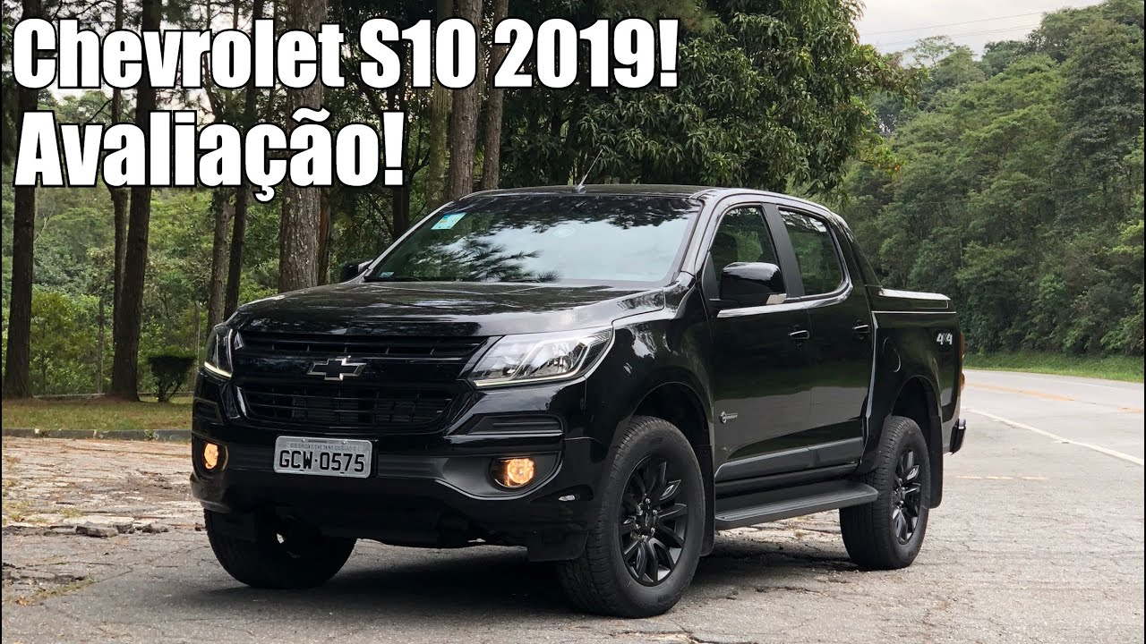 Nova Silverado >> Chevrolet S10 2019 Midnight - Falando de Carro - YouTube