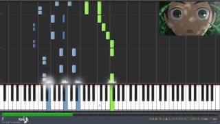 Repeat youtube video Shingeki! Kyojin Chuugakkou Opening - Seishun wa Hanabi no You ni (Synthesia)