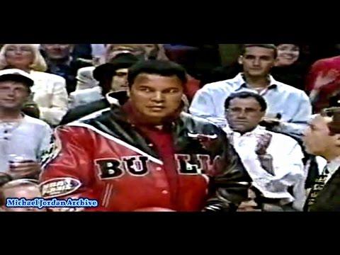 Muhammad Ali vs Micheal Jordan - GOAT Meets GOAT! (1997 NBA Finals)