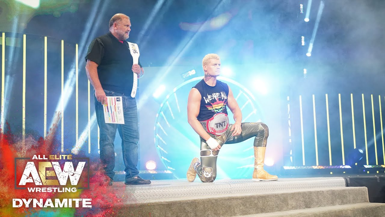 Download WAS CODY ABLE TO DEFEND HIS CHAMPIONSHIP & WHAT HAPPENED AFTER THE MATCH?   AEW DYNAMITE 6/10/20