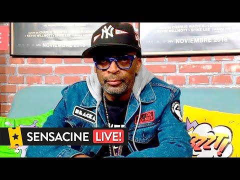 LIVE | SPIKE LEE visita SensaCine para hablar de 'Infiltrado en el KKKlan'